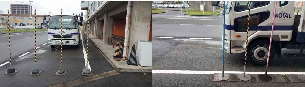 路端における停車及び発進