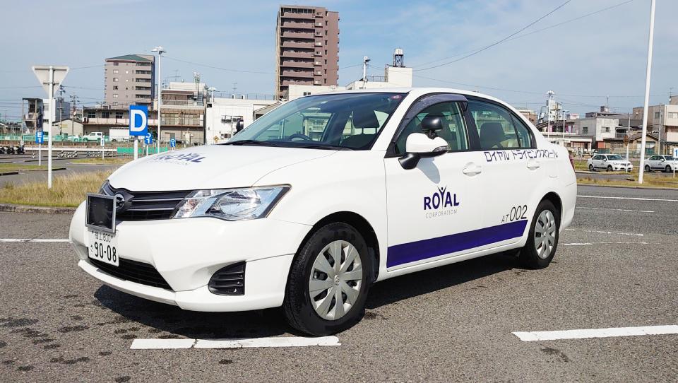 普通車 カローラ ペーパードライバー 福山 広島県 ロイヤルドライビングスクール